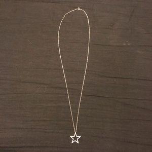 Diamond 10K Star Necklace